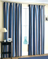 Blue Ticking Curtains Navy Blue Shower Curtain 8libre Curtain Gallery Images