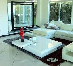 Modern Living Room Tables Living Room Design Ideas Features White Sofa And Black Scabbard