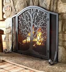 fireplace screens doors screen door inserts today we selection fire flat guard spark guards fireplace screen