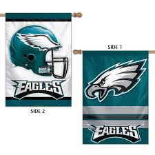 philadelphia eagles flag 28x40 nfl vertical 2 sided house