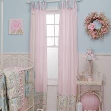 Light Pink Curtains by Curtains And Drapes For Nursery Decorate The House With