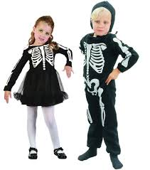 Boys Skeleton Halloween Costume Boys Girls Toddler Halloween Costume Skeleton Fancy Dress Bones