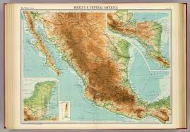 Mexico And Central America Map by Mexico U0026 Central America David Rumsey Historical Map Collection