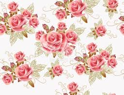 Wallpaper Design Images Cute Seamless Wallpaper Design With Rose Flowers Stock Photos