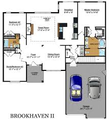 the brookhaven by rosewood home builders custom house plans