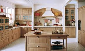 tile countertops light brown kitchen cabinets lighting flooring