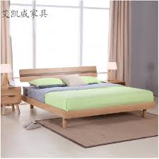 White Solid Wood Bedroom Furniture by Minimalist Solid Wood Bed 15 Off White Oak Bedroom Furniture