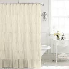 Hookless Waffle Shower Curtain Hookless Waffle Fabric Shower Curtain And Liner Set In Taupe