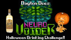 neurovoider drinking challenge tequila robots and liver abuse