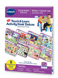 Leapfrog Phonics Desk Touch U0026 Learn Activity Desk Deluxe Vtech