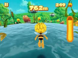 maya bee flying challenge android apk game maya bee