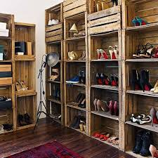How To Make A Wood Shelving Unit by Learn How To Turn Old Wooden Crates Into Cool New Furniture