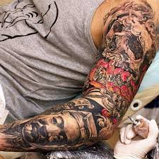 crazy sleeve tattoos for men tattoos for men