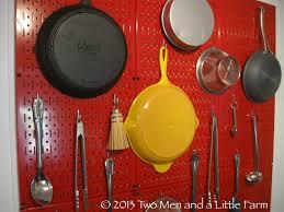 pegboard kitchen storage benefits of using kitchen pegboard
