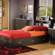 Bedroom Furniture With Storage Under Bed Bed U0026 Bedding Bernards Twin Captains Bed With Trundle And