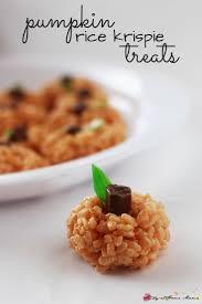 pumpkin rice krispie treats sugar spice and glitter