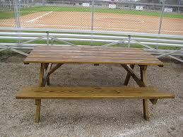 Picnic Table Plans Free Separate Benches by Great 6 Ft Picnic Table 6 Ft Redwood Picnic Table With Separate