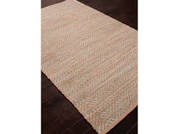 Solid Area Rugs Floor Coverings Jaipur Naturals Solid Pattern Blue Jute Rayon Area