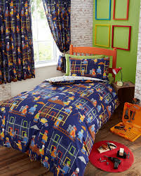 Single Duvet Covers And Matching Curtains Children U0027s Kids Boys Duvet Quilt Cover Bedding Sets Or Matching