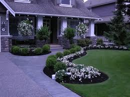 backyard amusing front yard flower beds simple flower bed ideas