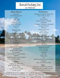 best 25 hawaii packing lists ideas on hawaii holidays