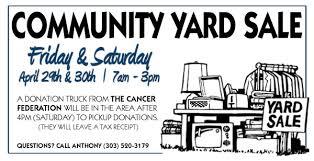 community garage sale flyer template best 20 community garage sale