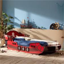 chambre bateau pirate lit enfant 90 x 190 cm pirate shark pas cher à prix auchan