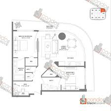 Skyline Brickell Floor Plans Brickell Heights West Tower Unit 4501 Condo For Sale In Brickell
