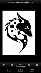 tribal wolf tattoos designs android apps on google play