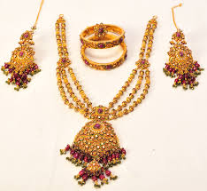 gold har set product name necklaces set category name weeding jewellery
