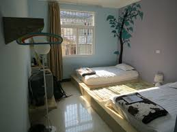 Raised Platform Bed En Suite Twin Room With Spacious Beds On Raised Platform Picture