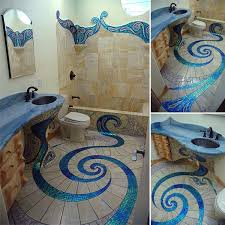 mosaic bathrooms ideas amazing lance s mosaic bathroom decor advisor