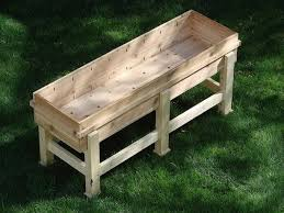 Garden Bench With Planters Planter Box Plans U2022 Nifty Homestead