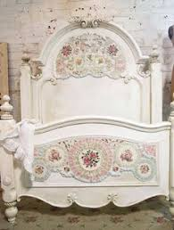 Shabby Chic Beds by Painted Cottage Chic Shabby Romantic Bedroom Armoire Wardrobe