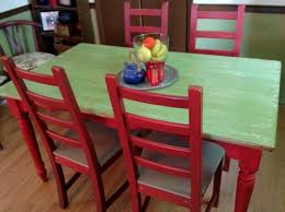 Best  Red Kitchen Tables Ideas Only On Pinterest Paint Wood - Distressed kitchen tables
