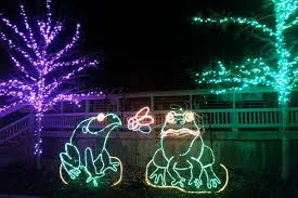 zoo lights at hogle zoo hogle zoo lights review best zoo in the world 2018