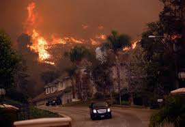 Glendora Wildfire Map by Extreme El Niño Drought Stricken California In The Crosshairs Of