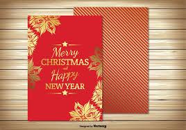 christmas card illustration download free vector art stock