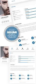 modern resume templates free download psd effects 17 free clean modern cv resume templates psd freebies word 0010 cv