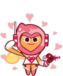 Seeking Cupid Pink Choco Cookie