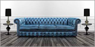 chesterfield sofa bed uk blue chesterfield sofa inviting blue leather chesterfield sofa uk