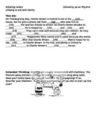 brown thanksgiving guided notes and writing assignment tpt