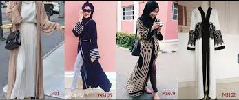 latest burqa designs chiffon open abaya women islamic clothing