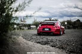 red nissan 350z nissan nissan 350z stance stanceworks stancenation red cars