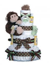 monkey themed diaper cake designs lil u0027 baby cakes blog