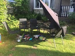 familes u0027 horror as glass patio tables from argos and asda explode
