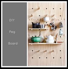 kitchen pegboard ideas littlebigbell peg board kitchen storage big bell