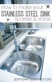 How To Clean Kitchen Sink by Best 20 Cleaning Stainless Steel Ideas On Pinterest Stainless