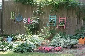 Backyard Fence Decorating Ideas Backyard Garden Fence Ideas Small Wood Raised Bed Backyard