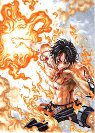 one piece portgas d ace one piece zerochan anime image board